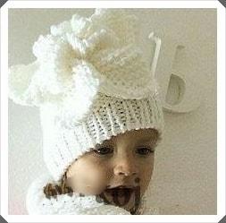 Örgü Bebek Bere Modeli