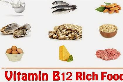 Makanan - Makanan Yang Mengandung Vitamin B12 Tertinggi