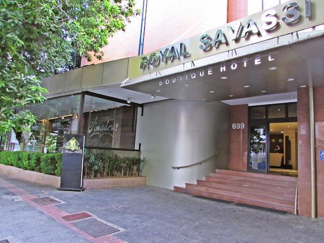 Melhor hotel da Savassi - BH
