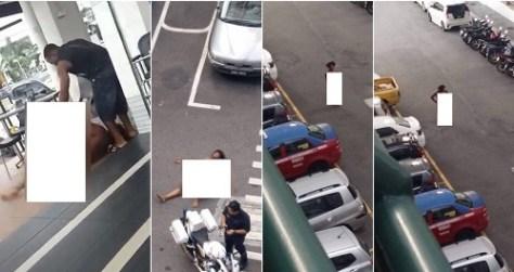 nigerian prostitute runs mad malaysia