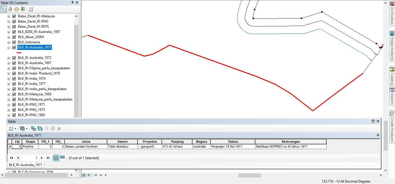 Data SHP Batas Maritim Indonesia Terlengkap