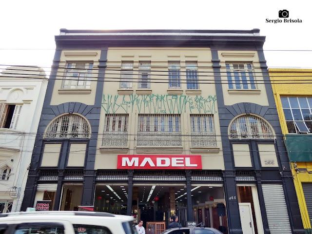 Vista da fachada de Casarão restaurado da Rua do Gasômetro 2 - Brás - São Paulo