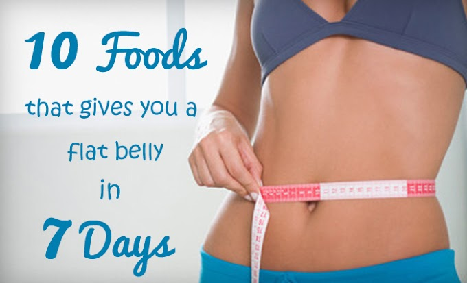 How to lose belly fat in 7 days