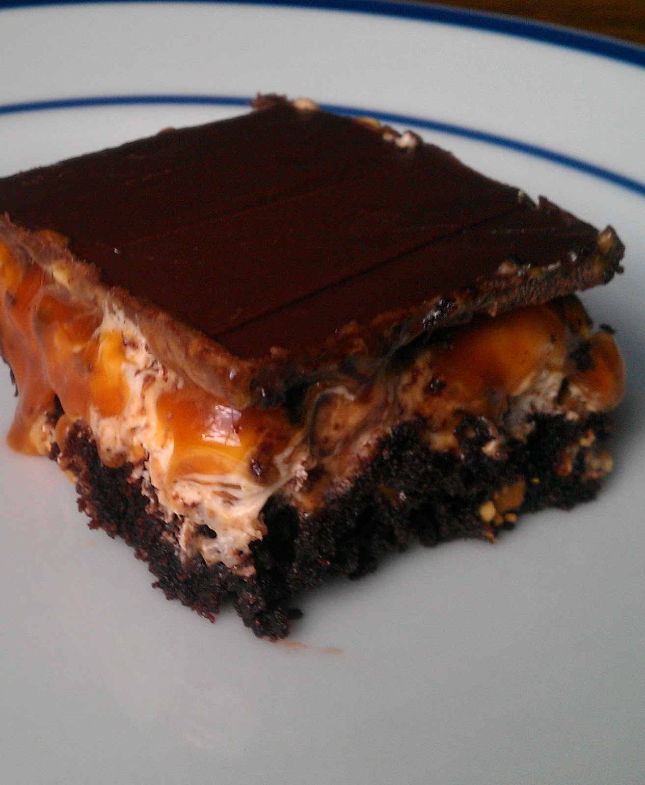Snickers Brownies | Cook'n is Fun - Food Recipes, Dessert ... - photo#2