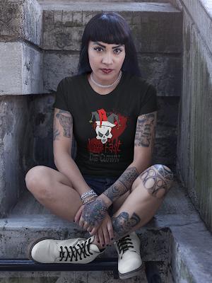 Live Fast, Die Clown T-Shirt by TET