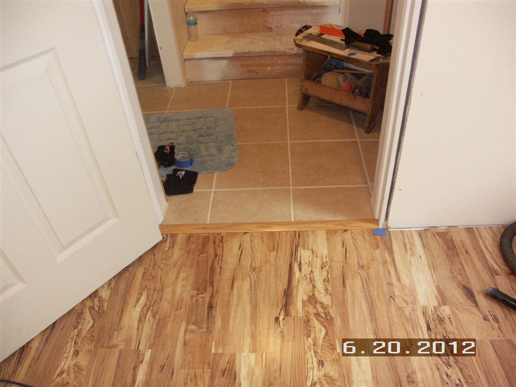 Our Projects Basement Finish Boat Room Flooring