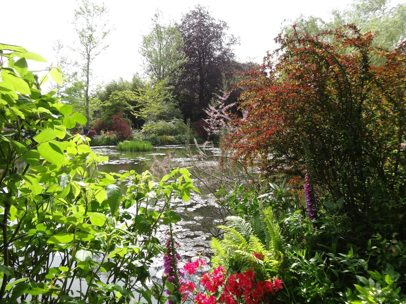 Le blog de parcs et jardins de l 39 oise giverny en mai for Jardins a visiter