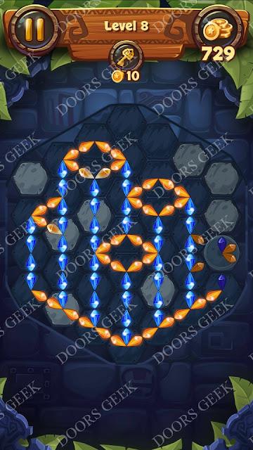 Gems & Magic [Malachite] Level 8 Solution, Walkthrough, Cheats