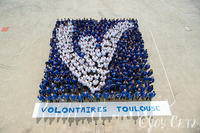 Photo de groupe des volontaires de Toulouse EURO 2016