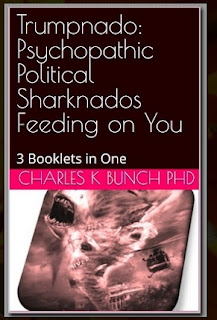 trumpnado sharknado feeding on you