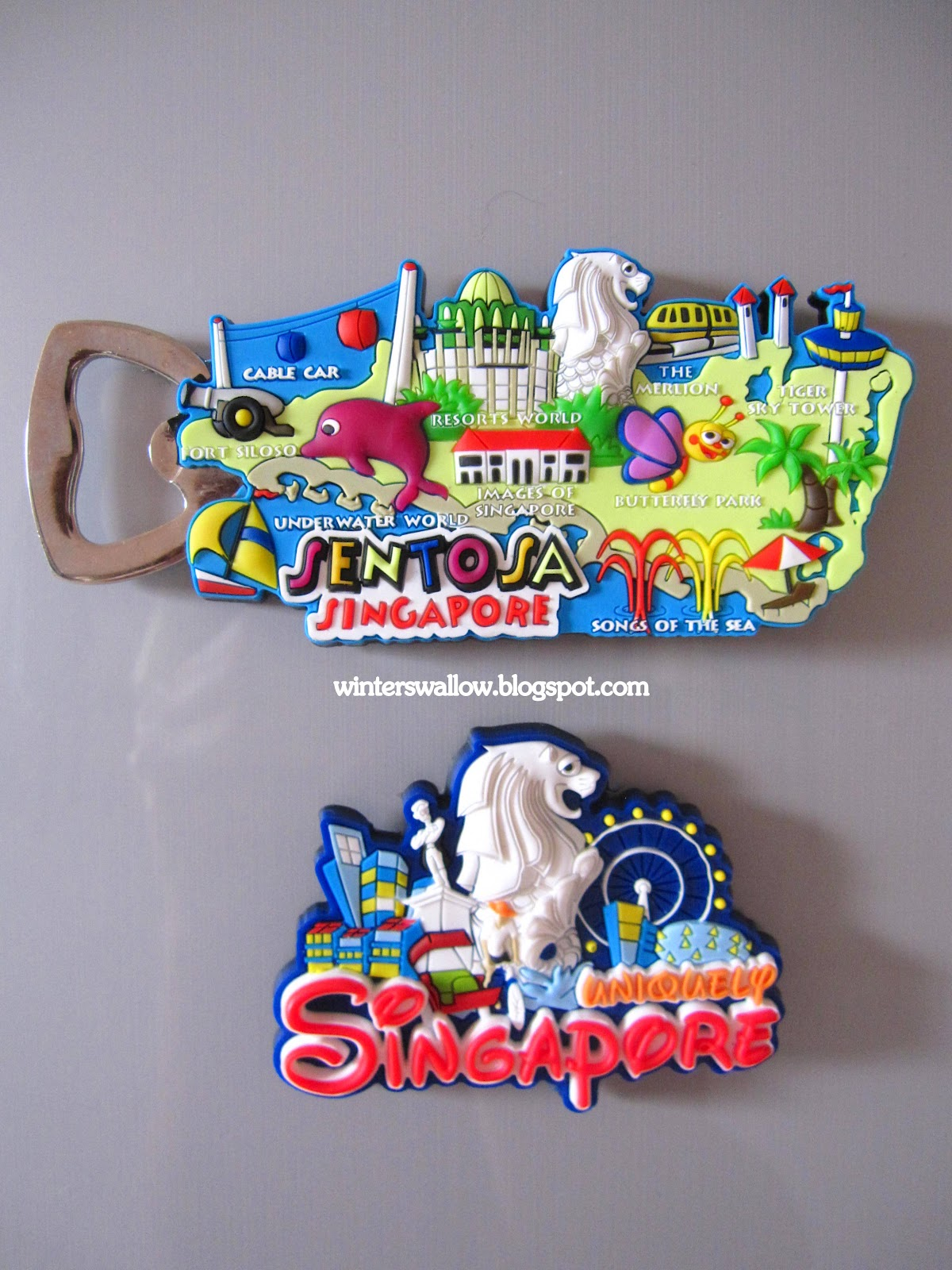Julie S Travel Blog Fridge Magnets From Singapore And