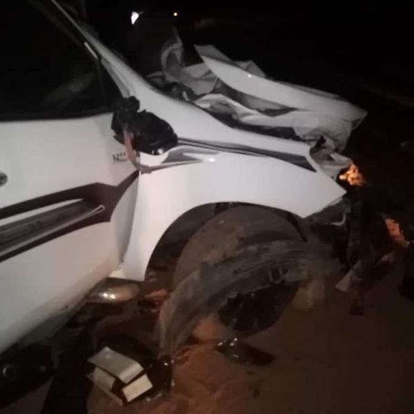 ارتقاء  المقرئ نورين محمد صديق في السودان اثر حادث سير