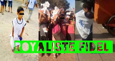 منظمة ماتقيش ولدي المغربية تندد استغلال الاطفال في الحملات الانتخابية