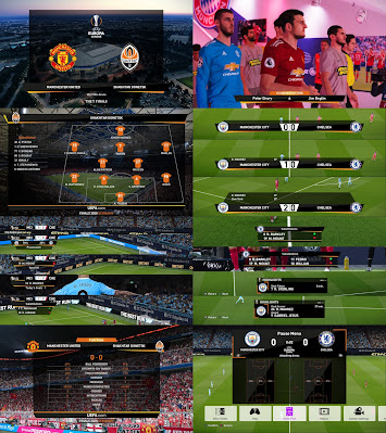 PES 2020 Scoreboard UEFA Europa League by Spursfan18