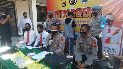 Sabu Disembunyikan Dalam Perut Berhasil Diungkap Satresnarkoba Polres Lotim