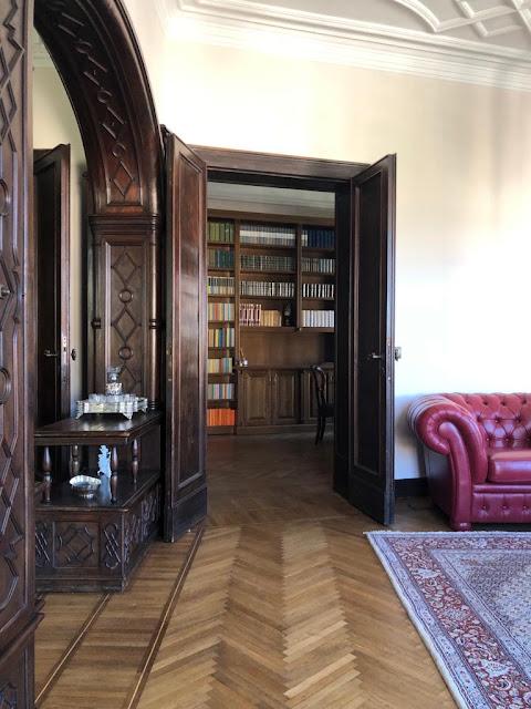 librerie in stile per studio roma