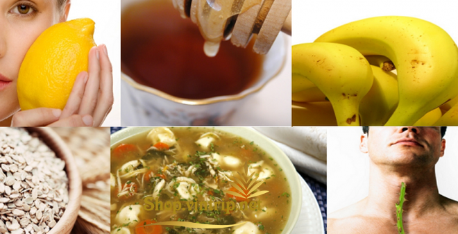 Mật ong _ 6 loại thực phẩm dân gian chữa viêm họng hiệu quả