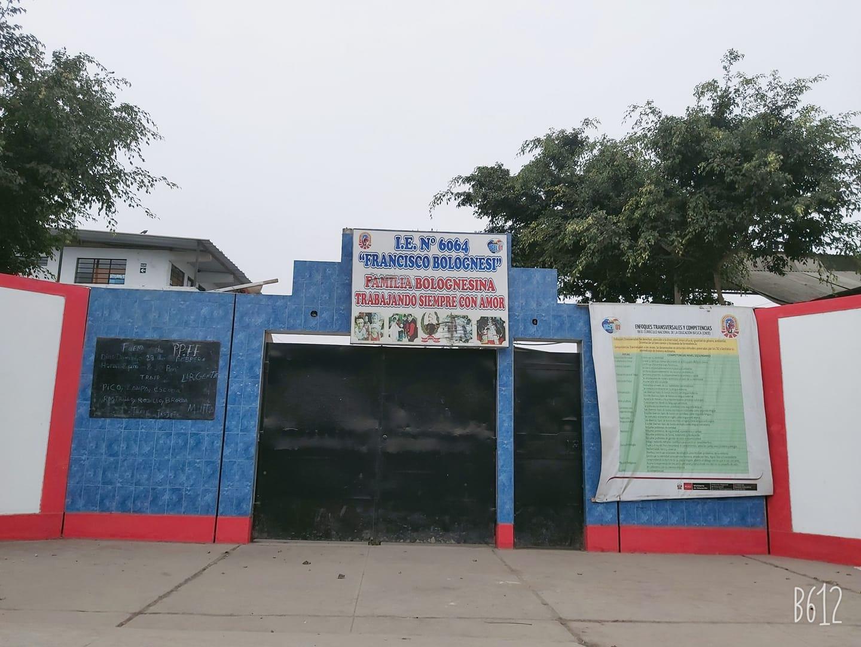 Escuela 6064 FRANCISCO BOLOGNESI - Villa El Salvador