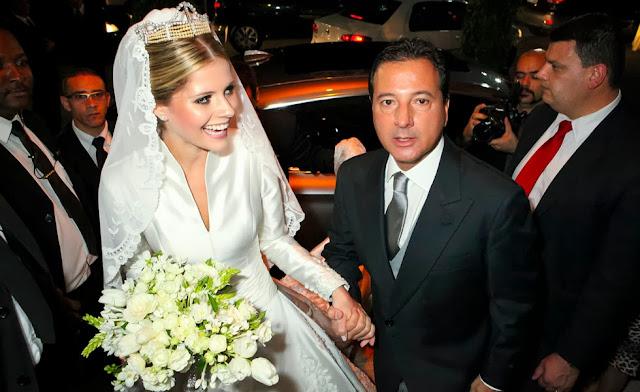 casamento lala rudge vestido de noiva