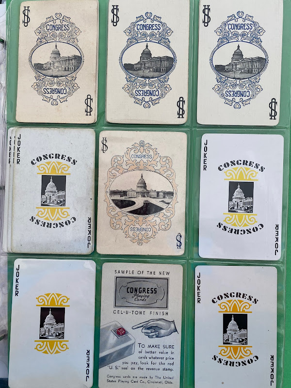 Congress Joker Playing Card Collection