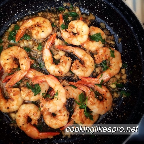 Cajun shrimps