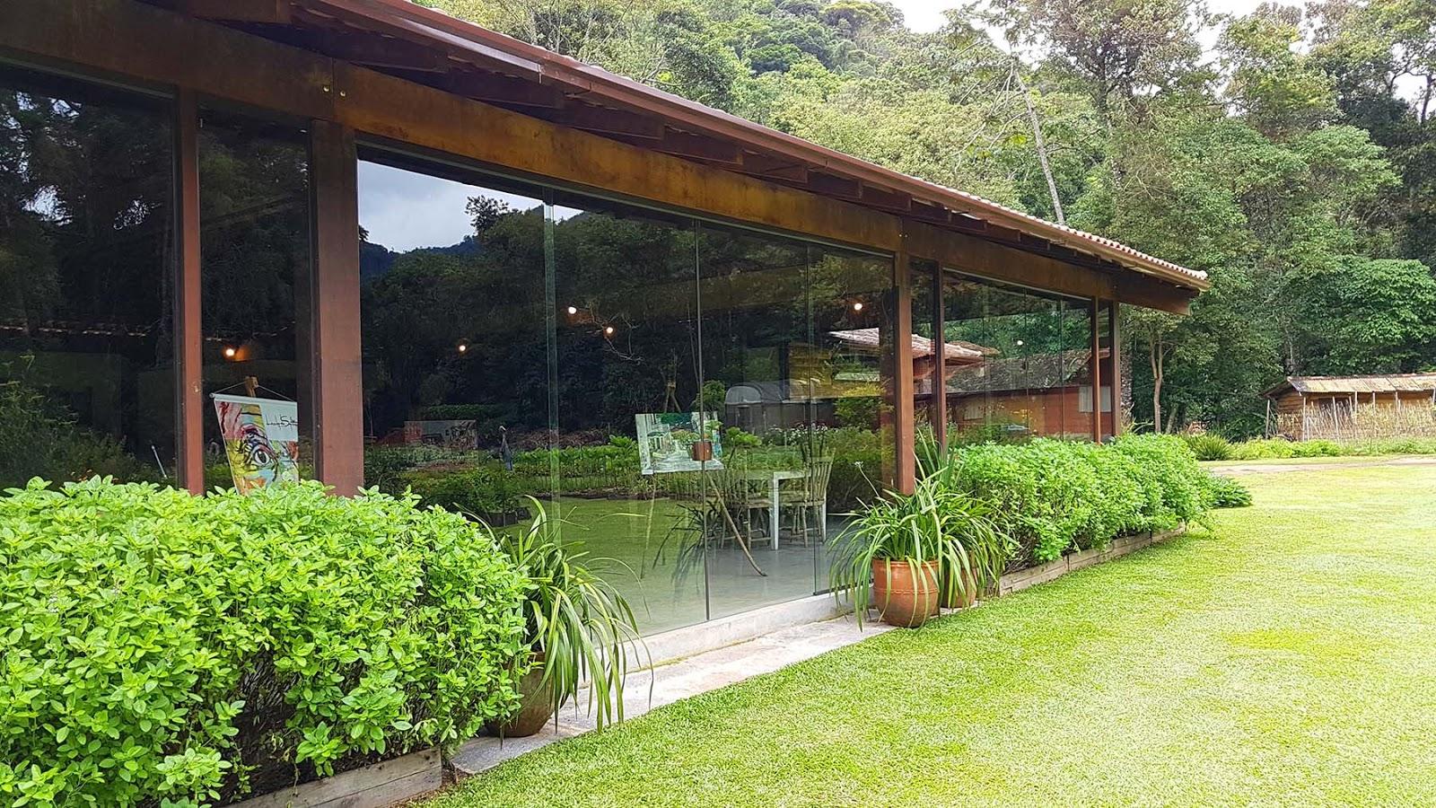 Restaurante Trilhas do Araçari, Mury.