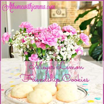 Meyer Lemon Friendship Cookies