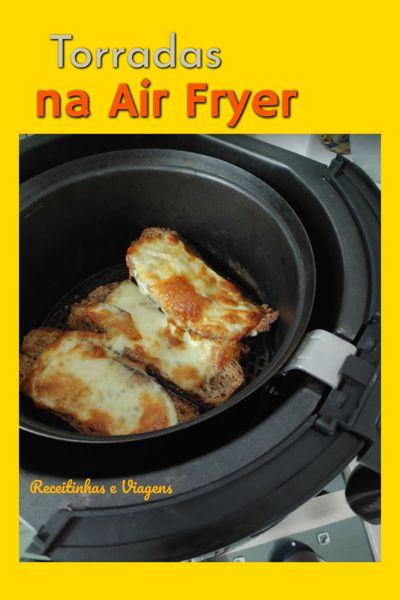 Como fazer torradas de queijo na Air Fryer