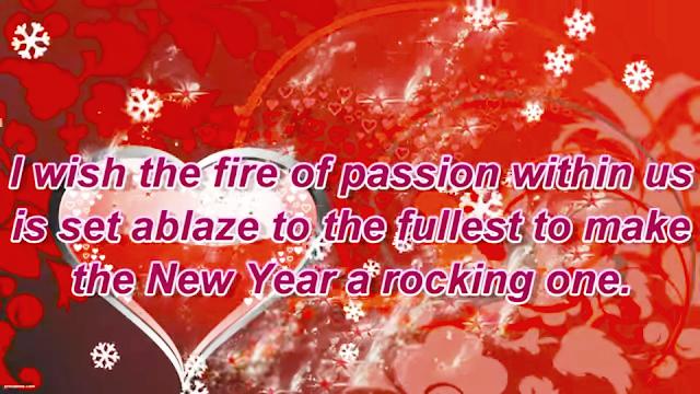 Happy New Year 2020 Romantic Wishes