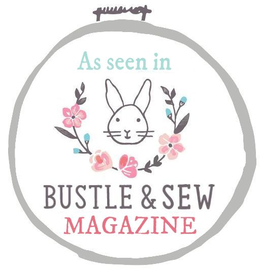 Bustle and Sew Badge