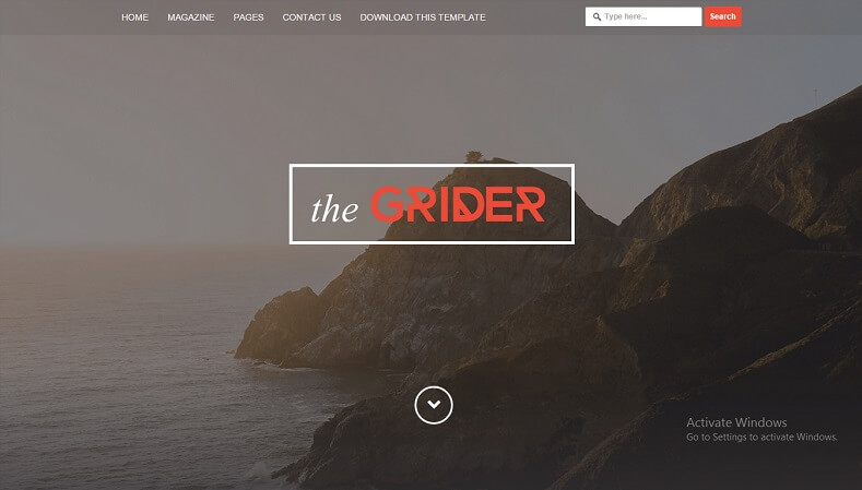 Download - Grider - Responsive News/Magazine Blogger Template