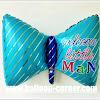 Balon Foil Dasi WELCOME LITTE MAN