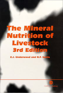 The Mineral Nutrition of Livestock 3rd Edition