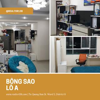nhà đẹp nội thất cao cấp chung cư Bông Sao 2019