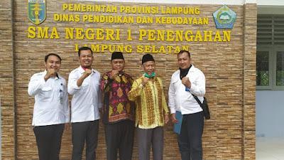 BNNK Lampung Selatan, Supervisi Pelaksanaan Advokasi Berwawasan Anti Narkoba di Dua Sekolah