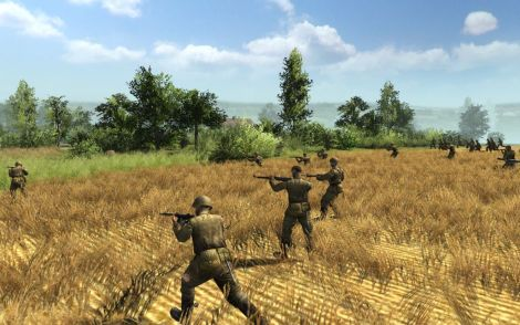 Screen Shot Of Men of War Condemned Heroes (2012) Full PC Game Free Download At worldofree.co