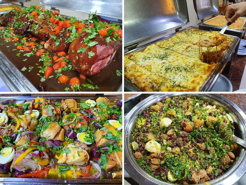 Hotel Fazenda China Park fotos comida