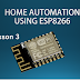 كورس home automation using esp8266  lesson 3