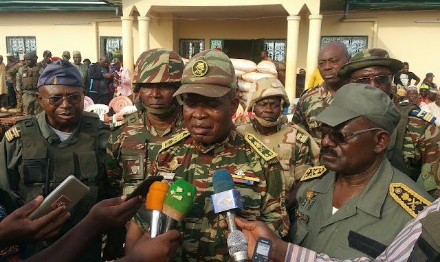 West Region: After Separatists Attacks, Top Military officers Visit command post