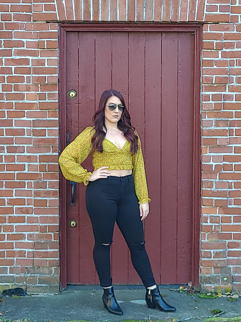OOTD: Blouses and Booties!