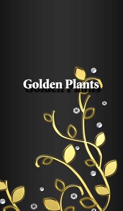 Golden Plants ブラック