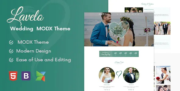 Best Wedding MODX Theme