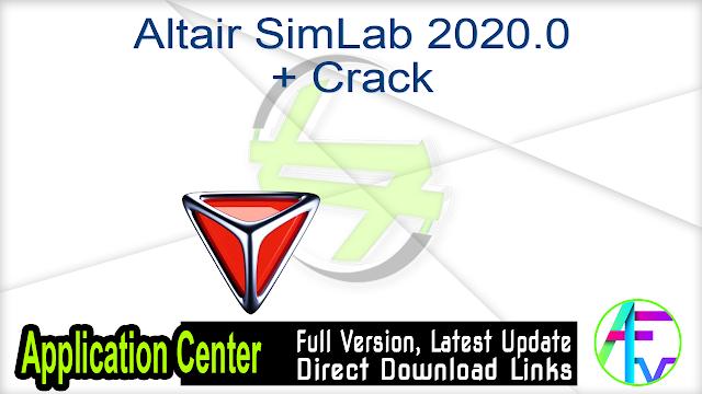 Altair SimLab 2020.0 + Crack