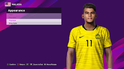 PES 2020 Faces Safawi Rasid by PESFaceThai
