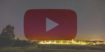 Zorza polarna sfotografowana w noc z 27 na 28 maja 2017 r. Time-lapse. Poznań, Morasko, wielkopolskie. Autor: Leszek Bartczak
