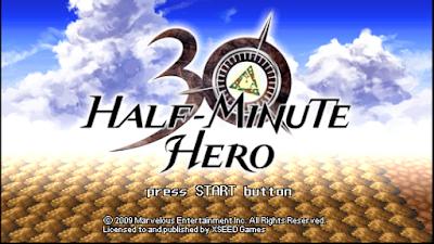 تحميل لعبة Half Minute Hero لأجهزة psp ومحاكي ppsspp