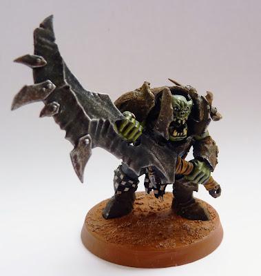 Ironjawz Brute with Gore-choppa
