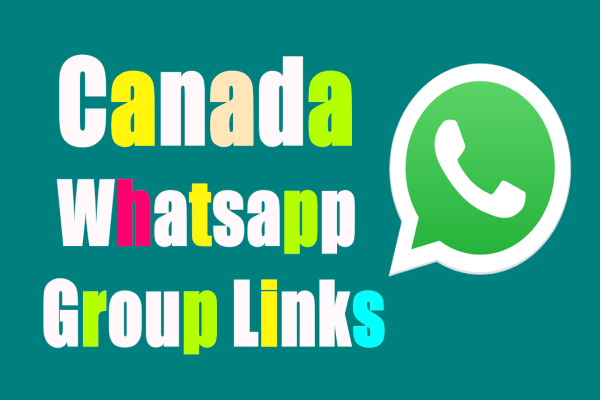 Canada Whatsapp Group Links