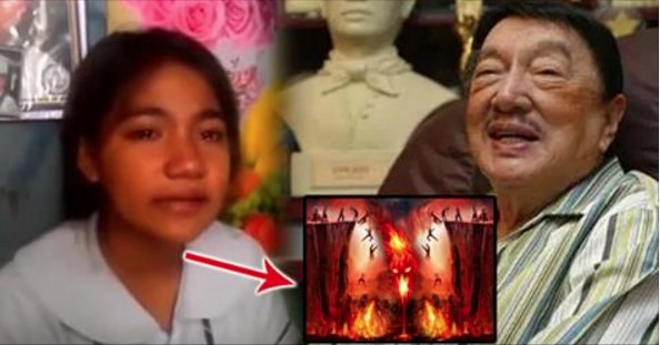 Pinay Student was Sleeping for 33 Hours and Visited Hell Only to Find Dead Celebrities Such As Dolphy Suffering There!