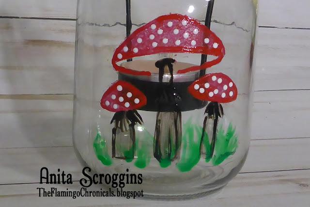 Mushroom Fairy Jar